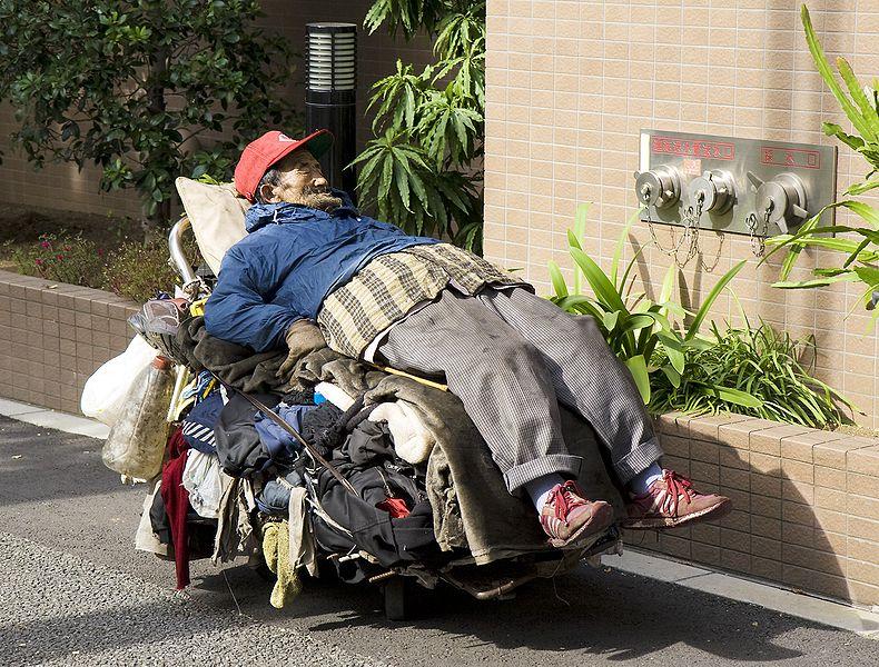 790px-Homeless_man,_Tokyo,_2008